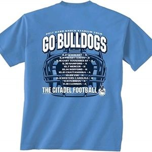 Citadel Bulldogs Men's Shirt XXL 2017 Football